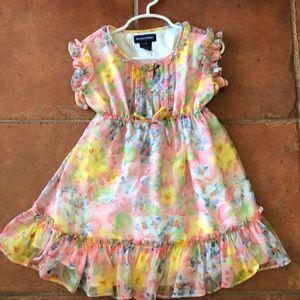 Polo ralph lauren floral dress 3t